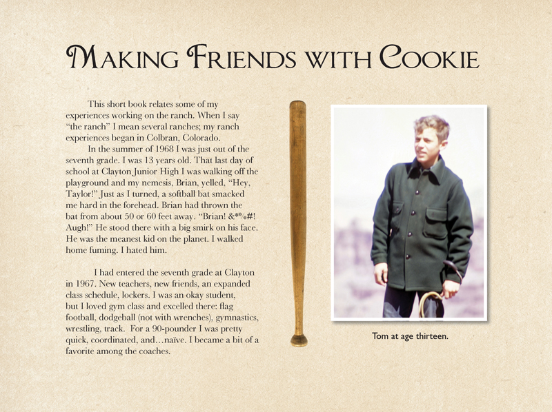 Here's the story of how I made friends with Cookie the mule.