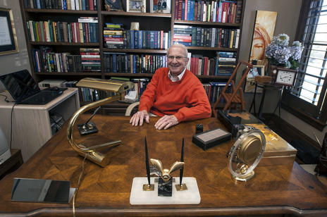 "A photo from Doug Robinson's article ""Dynamo Fred Ball wishes he were still working."" Photo by Matt Glade, Deseret News."