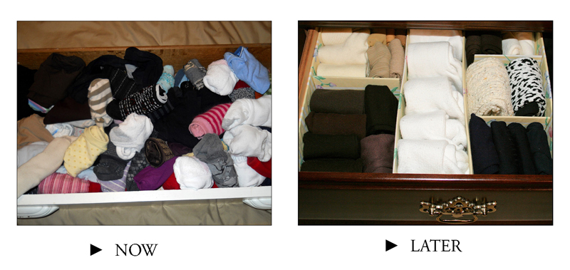 "You don't have to get all your photos perfectly organized at the outset; you just need to get them in the right ""drawers."""