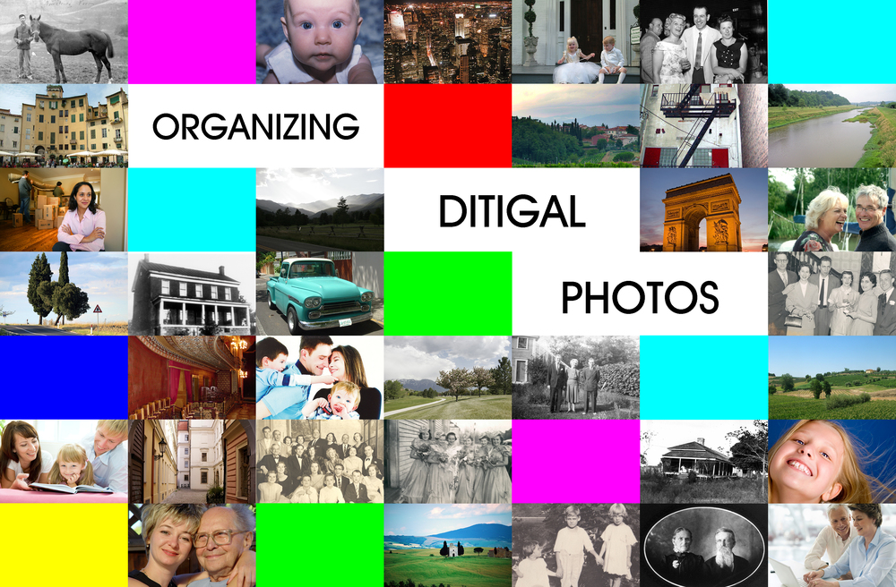 Here's a low-stress way to organize your digital photos. No special software required.