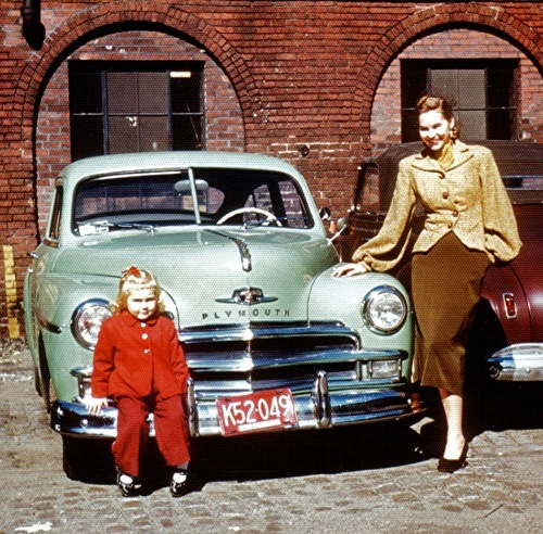 Dorothy Nielsen England with her daughter Claudia.