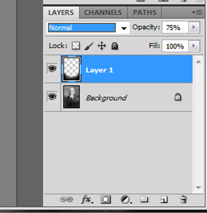 Lower the opacity of the vignette layer until you get the result you desire.
