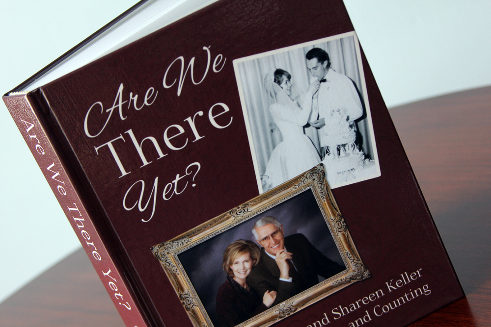 This book tells the history of a married couple in one large volume.