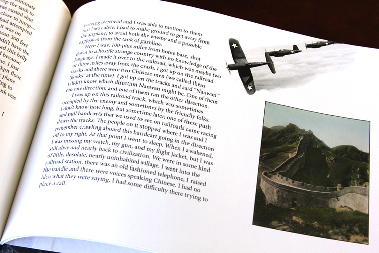 Wendell Taylor crashed his plane while flying over China and lived to tell the tale.
