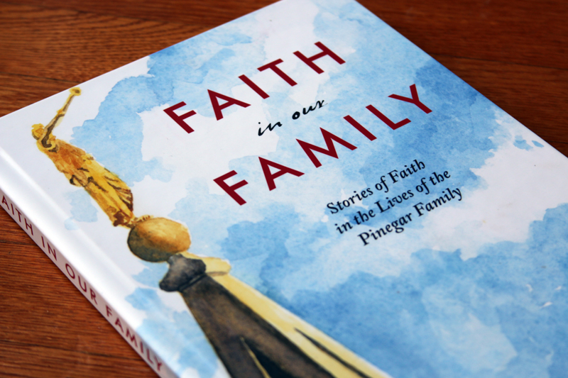 A collection of faith-promoting stories in one family's experience, with a beautiful watercolor painted by a family member as the cover illustration.