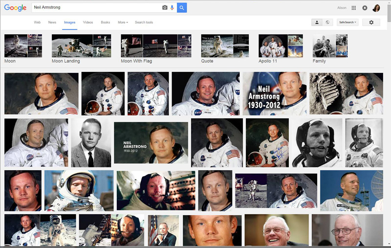 Random Google image search will bring up a lot of images and very little other information.