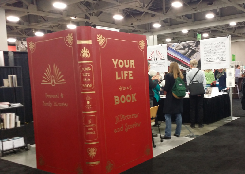 The Pictures and Stories booth at RootsTech 2016.