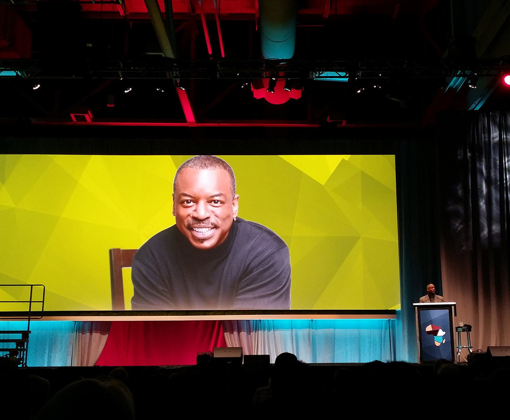 LeVar Burton's moving keynote address at RootsTech.