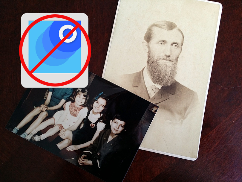 Do you care about saving your old photos? Here's why you shouldn't digitize them using Google's PhotoScan app on your cell phone.