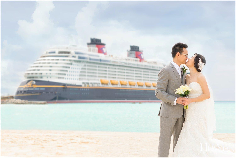 Disney Cruise Destination Wedding | Mamie & Toby — HerMan ...