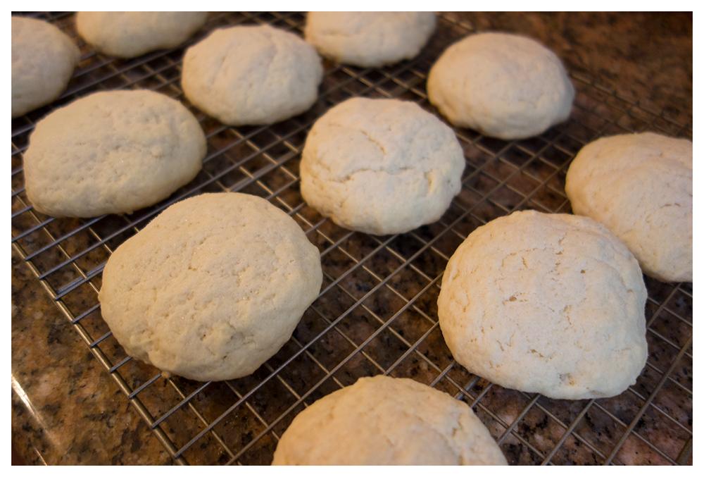 Biscuit friends post-oven