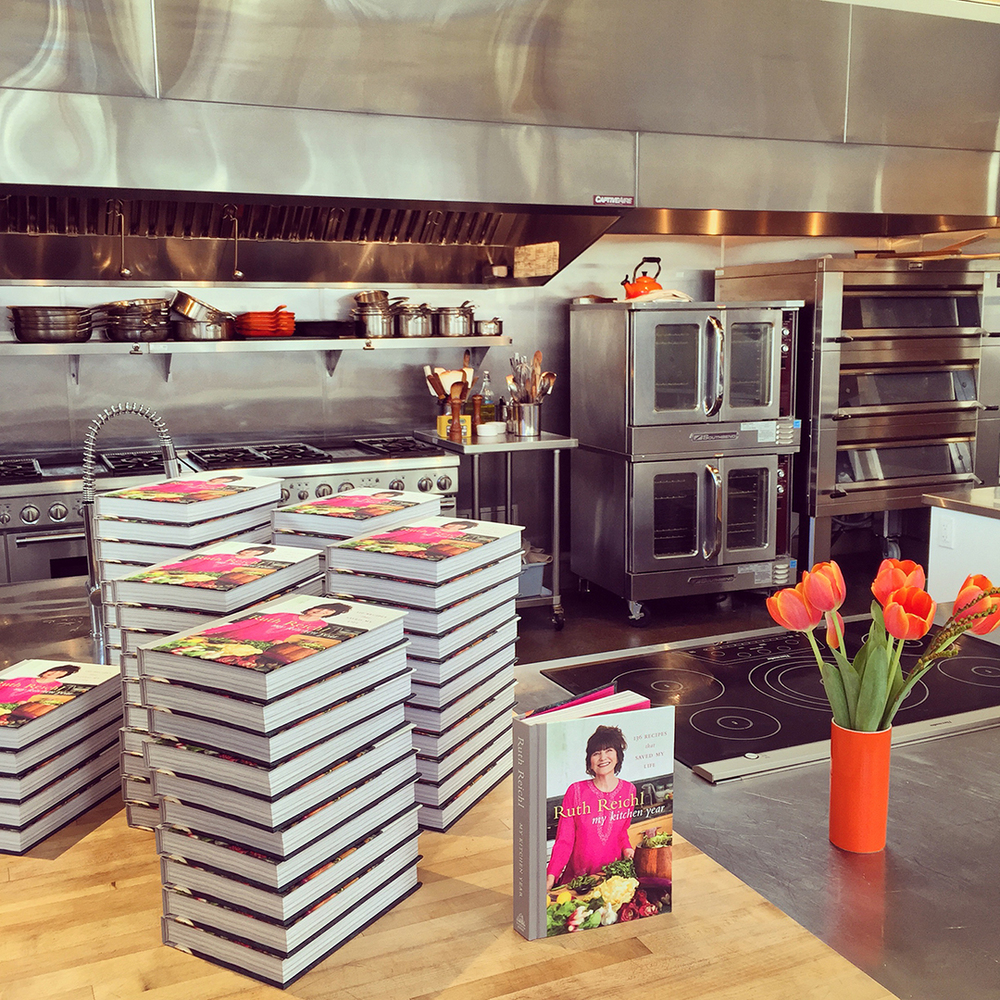 Ruth Reichl's coming!