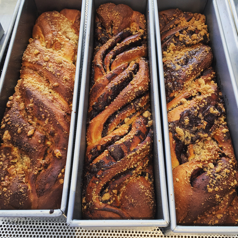Cinnamon & chocolate babka