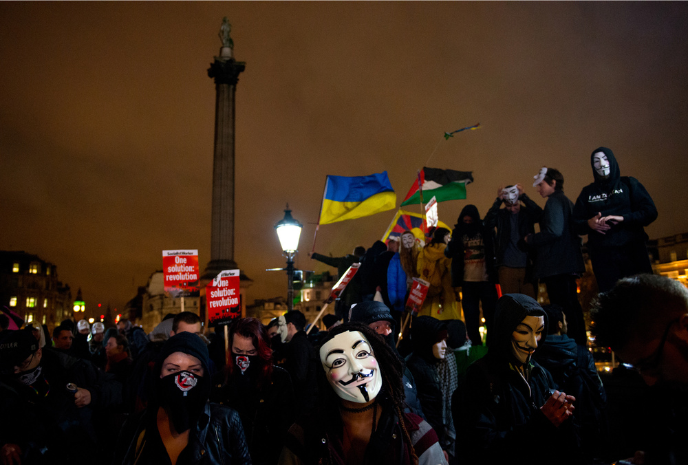 Million Mask March , London