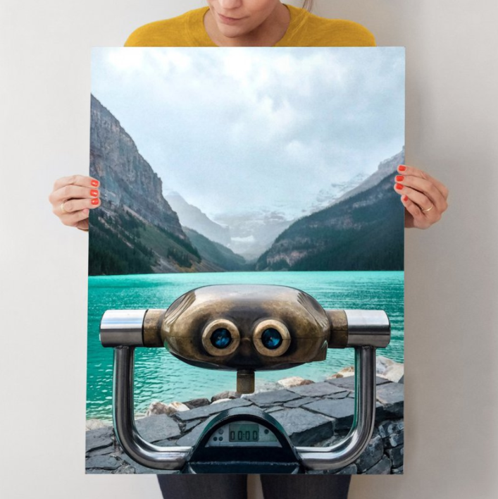 Wild Blue Yonder - was my big accomplishment from Minted challenges last year. Customers and artists vote on thousands of designs during each competition to tell Minted what to sell. My photograph of Lake Louise was voted #1 among nearly 6,000 entries. It is now being sold as a Limited Edition art print on Minted.com