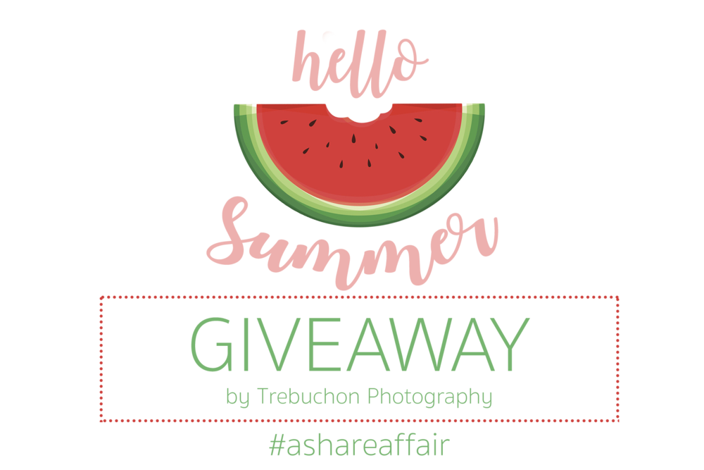 hello summer giveaway by trebuchon photography