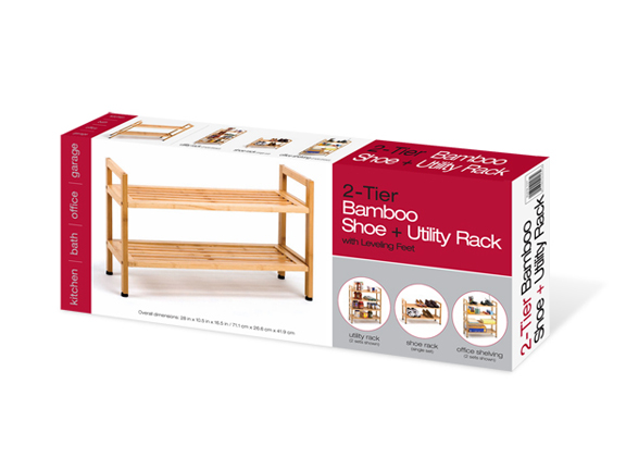 costco shoe rack bamboo