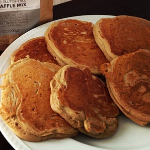 Love Grain pancakes - and I'm pushing these because I honestly like them.