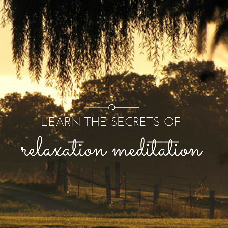 relaxation meditation Georgetown ON