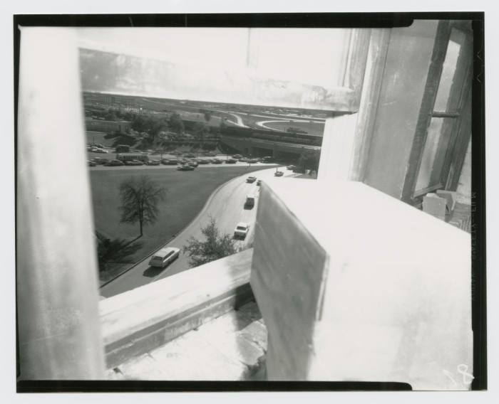 Photo 88- Sixth Floor, sniper's view of Elm Street.jpg