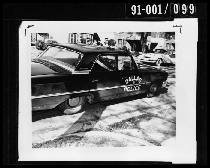 Photo 16- Tippit's patrol car passenger side view.jpg