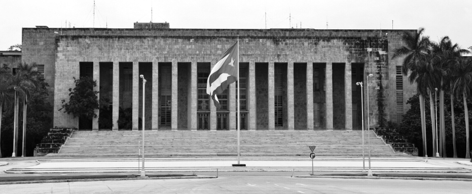 Cuban Communist Party Headquarters by Marco Zanferrari