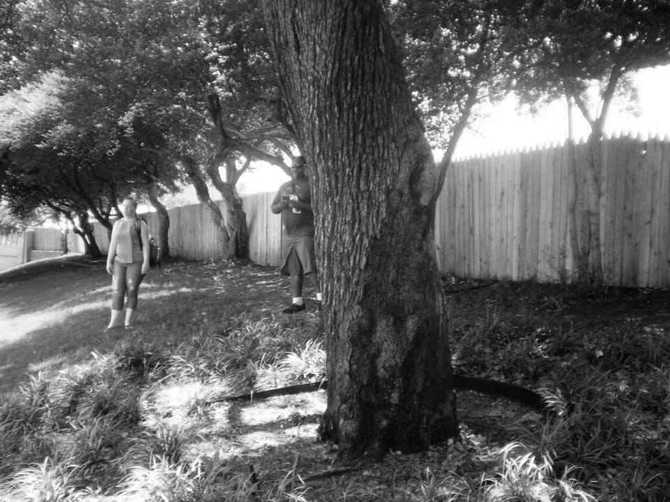 Photo 29-Western view of the Grassy Knoll area 2 B&W.jpg