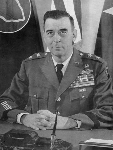 A PORTRAIT of General Edwin Walker during his time in the US ARMY