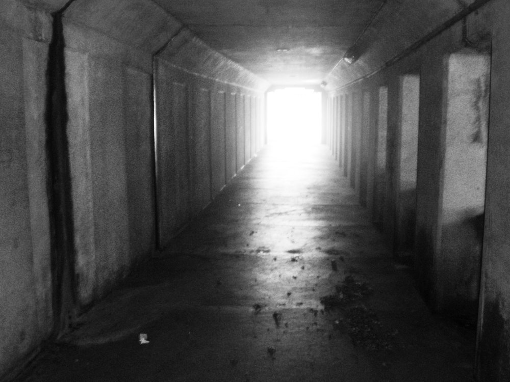 Far side under overpass BW.jpg