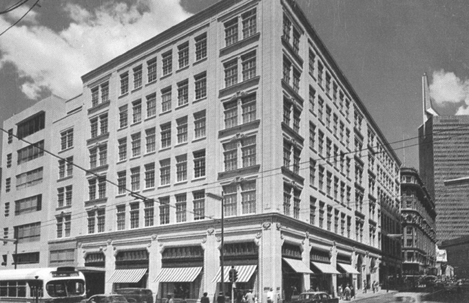 The Dallas Neiman Marcus store visited by Jo Beth Hill on November 22, 1963 (CRedit to the Department Store Museum)