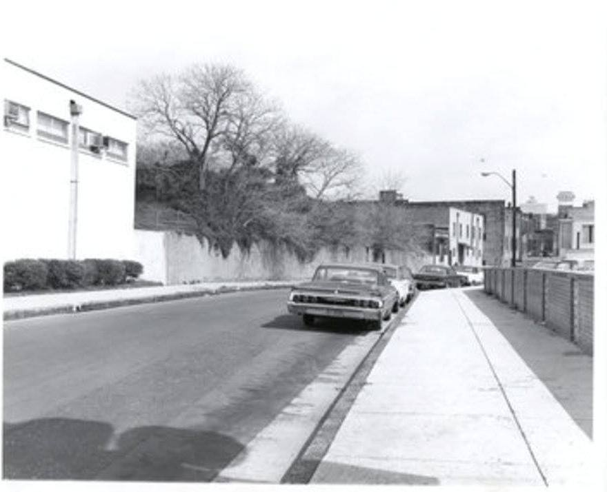Photo 31- Mulberry Street northern view, Fire Station at immediate left, Boarding house background left, Lorraine Motel to right.jpg