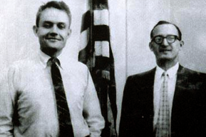 US Moscow Embassy Employees John McVickar and Richard E. Snyder