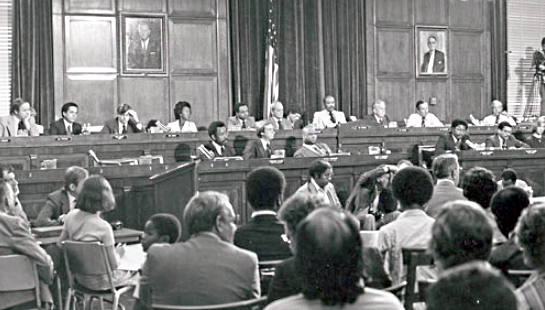 The House Select Committee on Assassinations circa the late 1970s