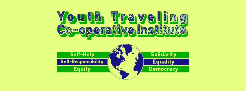 Youth TCI logos and graphics designed by Sean Farmelo, founder of Students for Cooperation (UK).