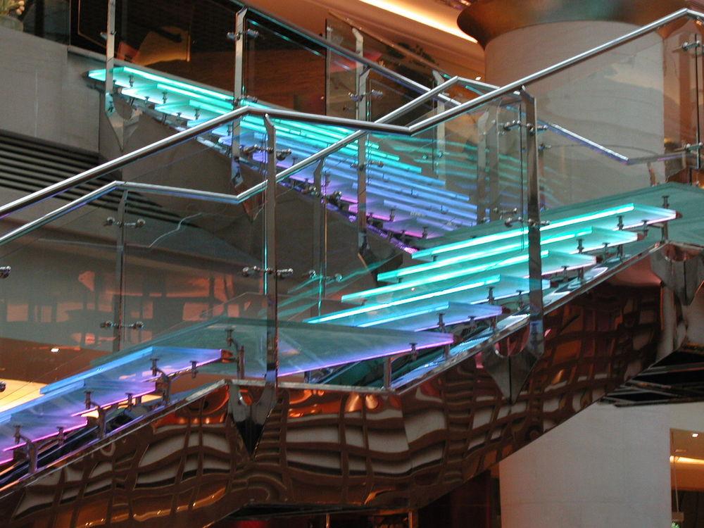 Lobby Grandstaircase, Westin Hotel, Shanghai