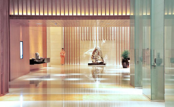 ENTRANCE LOBBY, HOTEL OKURA, MACAU