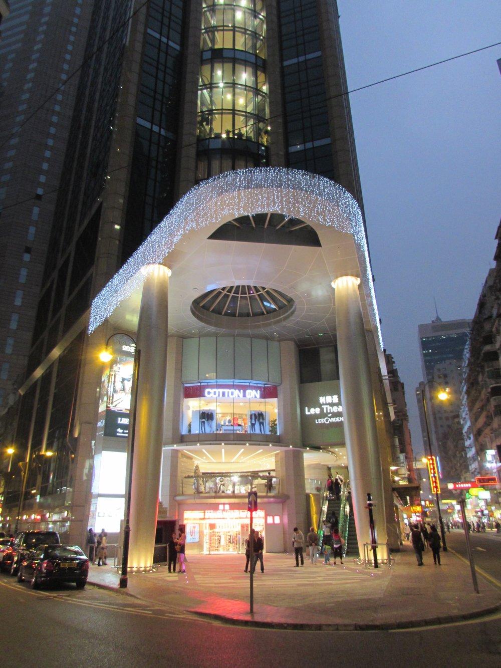 LEE THEATRE RETAIL, HYSAN, HONG KONG