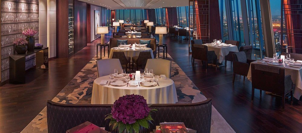 TING RESTAURANT @ SHANGRI-LA AT THE SHARD, LONDON