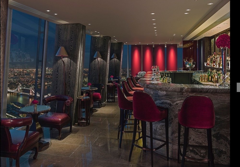 BAR @ SHANGRI-LA AT THE SHARD, LONDON