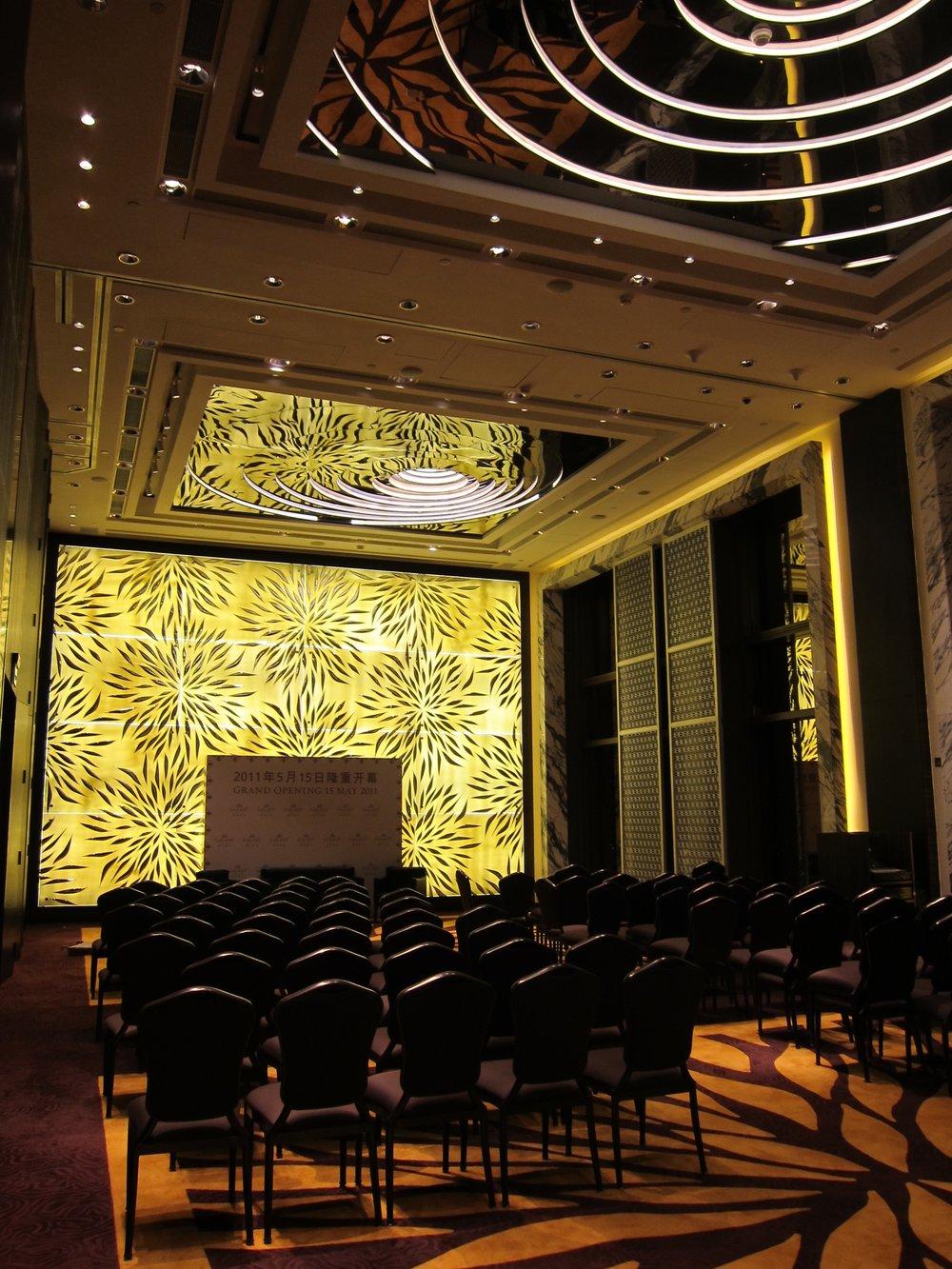 MEETING ROOM, HOTEL OKURA, MACAU