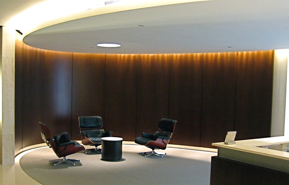PRIVATE OFFICE RECEPTION, IFC, HONG KONG