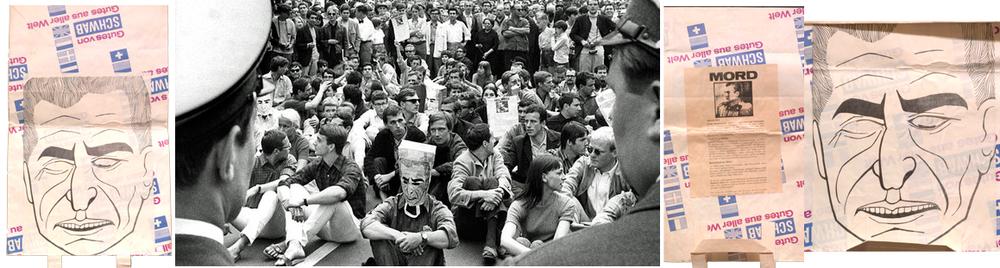 Die Schah-Tüte/ 1967 / Original