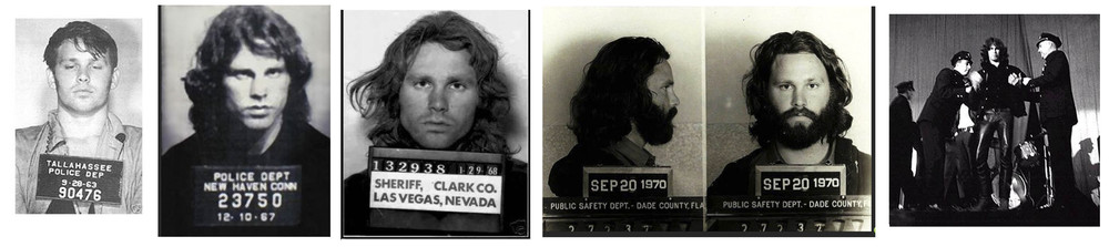 Jim Morrison, Sänger, The Doors.