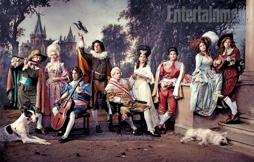 Never been so excited to see a bunch of actors in ridiculous costumes