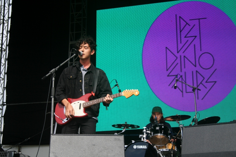 Last Dinosaurs impressed their core fanbase with a tight set