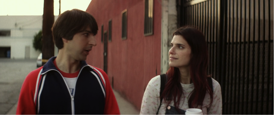 "Comedian Demetri Martin and writer-director Lake Bell in ""In a World..."""