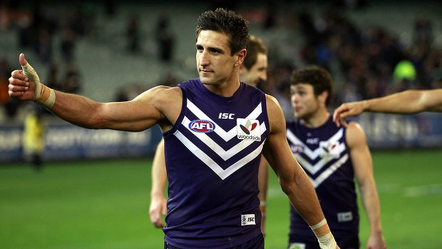 """Cheers Scott"" - Mathew Pavlich"