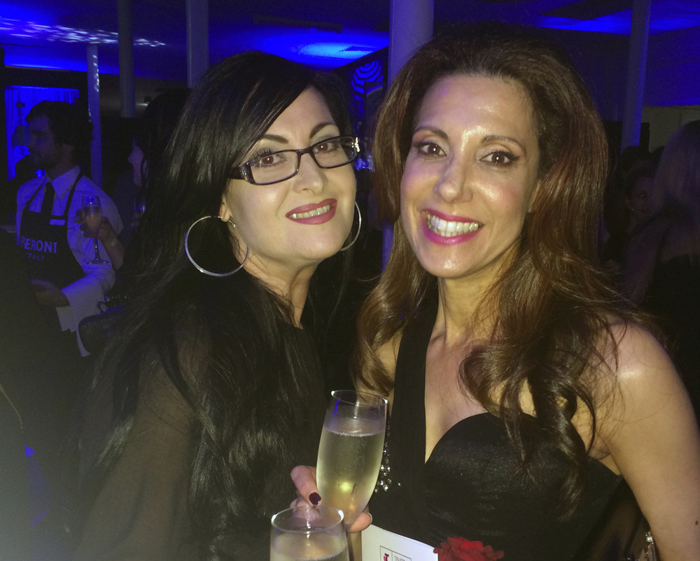 Mariella Harvey-Hanrahan - Director of Telstra Perth Fashion Festival 2014 (Picture Right) .