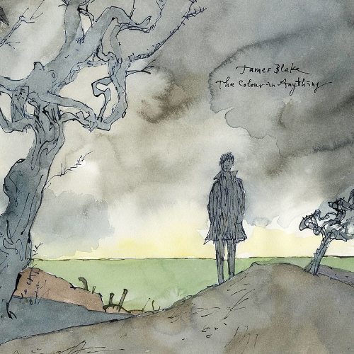 James Blake's  The Colour in Anything , with artwork from Quentin Blake