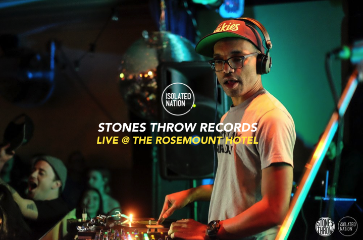 STONES THROW RECORDS GIG REVIEW | Isolated Nation
